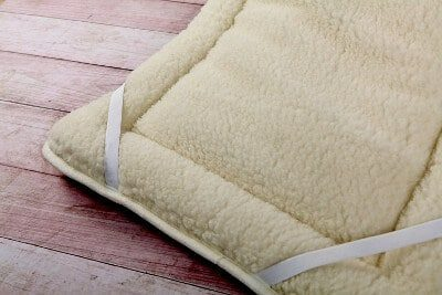 merino reversible mattress topper