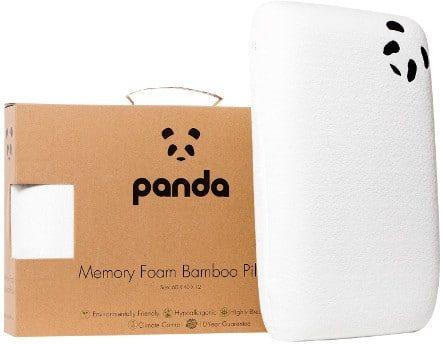 Panda Life Bamboo Memory Foam Pillow