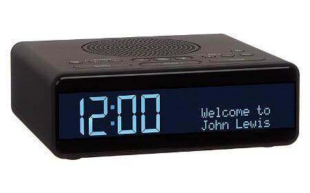 John Lewis Clock Radio