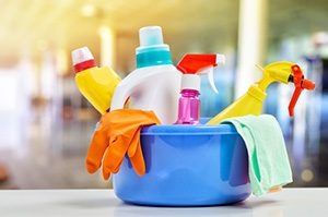 Cleaning Supplies For Washing a Mattress Topper