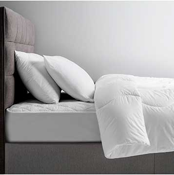 House by John Lewis Cheap Quilted Microfibre Mattress Protector