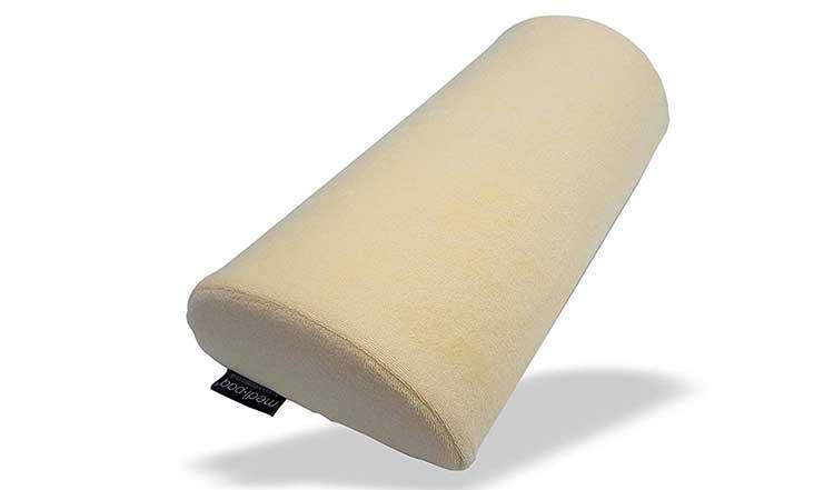Half moon Knee Pillow Example