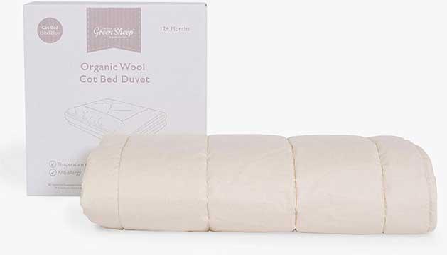 Little-Green-SheepOrganic Wool Cot Bed Duvet