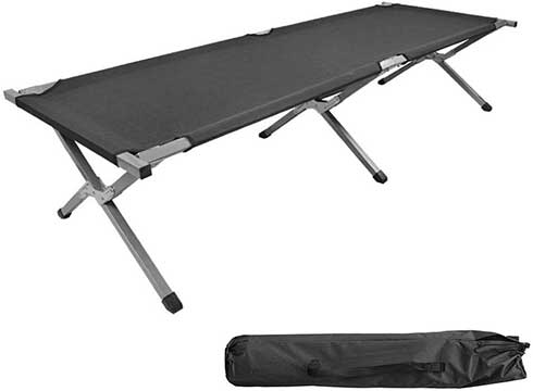 AllRight Single Folding Camping Bed