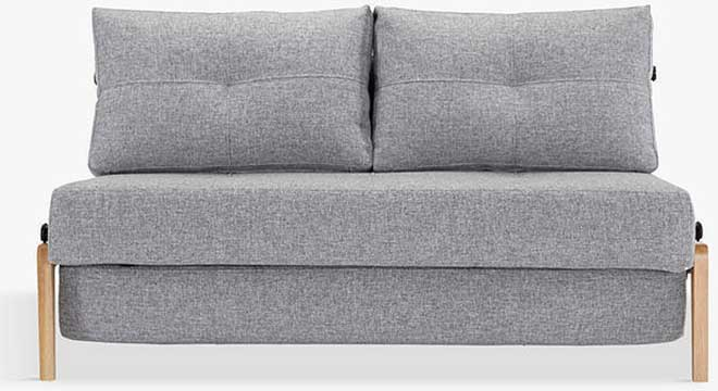 Innovation Living Cubed 140 Sofa Bed with Serpentine Sprung Foam Mattress