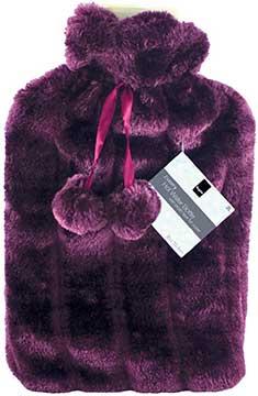 Keplin 2 Litre Faux Fur Hot Bottle