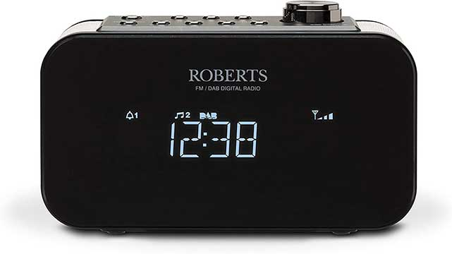 Roberts Radio ORTUS2BK Alarm Clock Radio