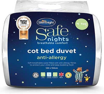 Silentnight Safe Nights Anti Allergy Cot Bed Nursery Duvet Review