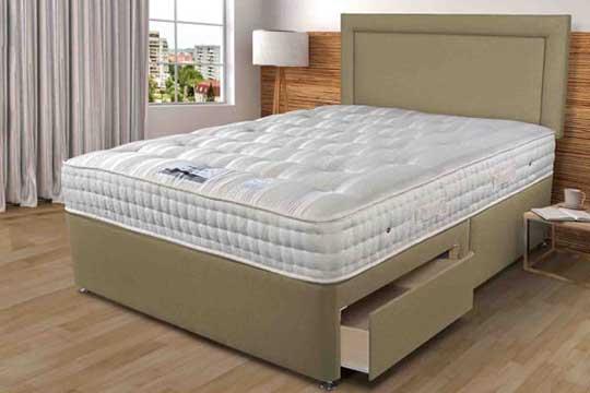 Sleepeezee Backcare Luxury 1400 Pocket Divan Set