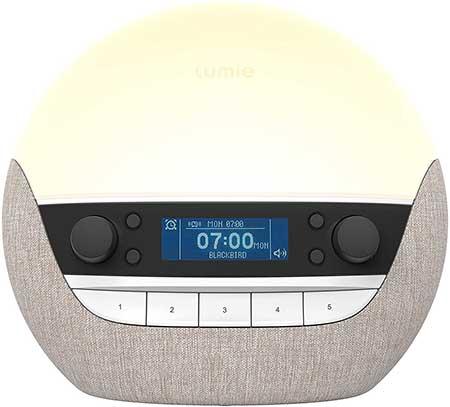 Lumie Bodyclock Luxe 700DAB Sunrise Simulation Alarm Clock