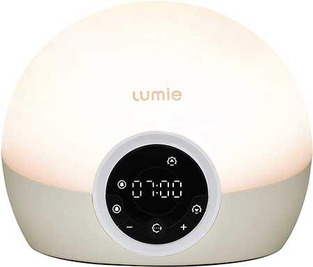 Lumie Bodyclock Spark 100 Wake up Light Alarm Clock with Sleep Sunset
