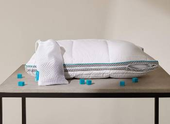 Simba Hybrid Pillow Unzipped With Nanocubes And Bag